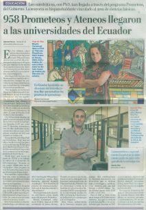 entrevista en El Comercio