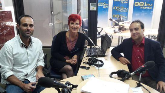 Foto en Radio Pública del Ecuador