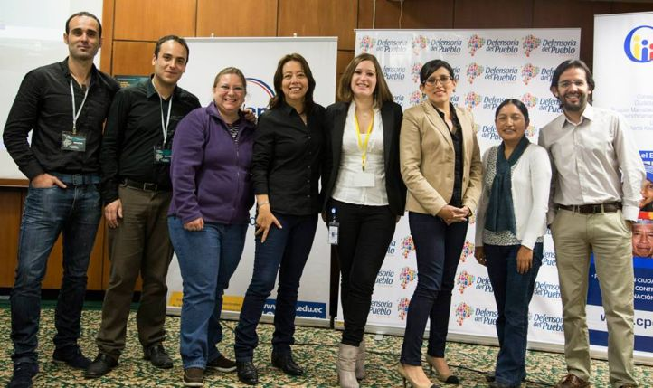 Foto Grupo Laboratorio de Comunicación y Derechos