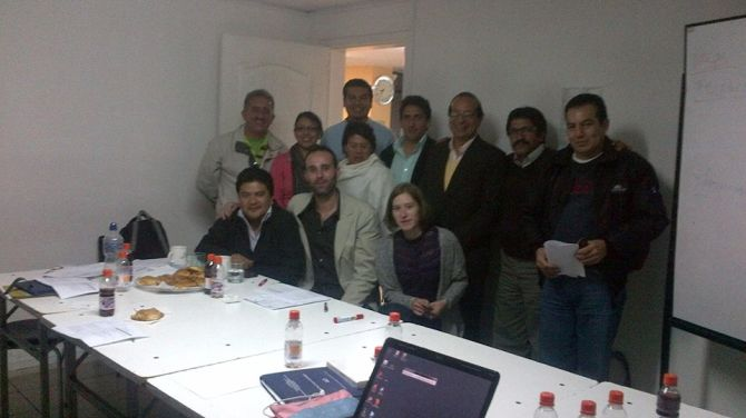 Foto grupo sur de Quito
