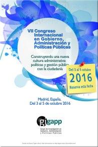 Cartel VIII congreso GIGAPP
