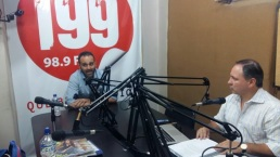 foto entrevista radio i99