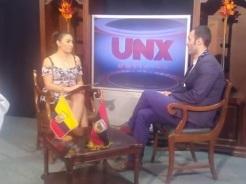 foto entrevista televisión
