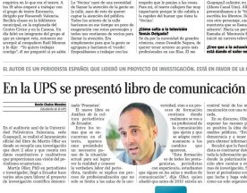 nota de prensa diario El Telégrafo