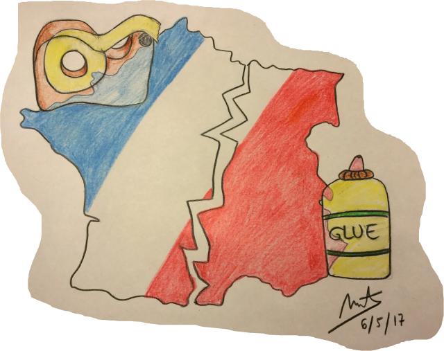 viñeta elecciones francia 2 final