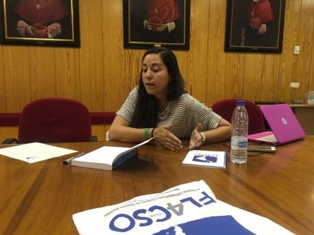 presentación libro género en FLACSO 2016, Salamanca