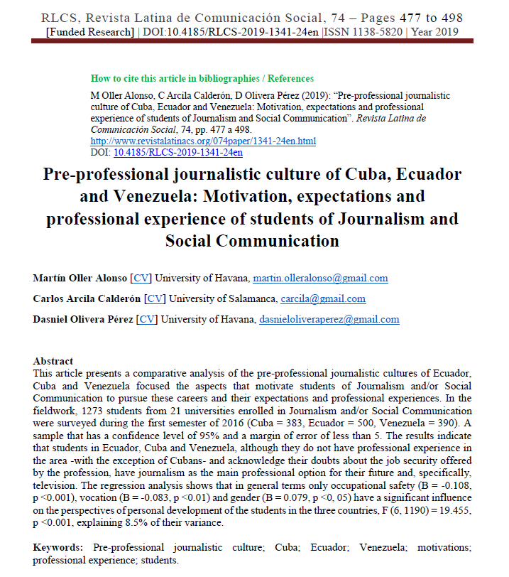 article students in c-e-v, motivations 2019,2