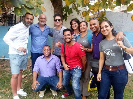 foto ronquillo y amigos habana 2019